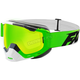 Lime/White/Black Boost Speed Goggles - 183100-7001-00