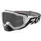White/Black Boost XPE Goggle w/Smoke Lens w/Platinum Silver Finish - 183100-0110-00