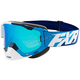 Blue/White/navy Boost XPE Goggle w/Smoke Lens w/Solar Finish - 183100-4001-00