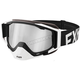 White/Black Core XPE Goggle w/Smoke Lens w/Platinum Silver Finish - 183102-0110-00