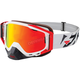 White/Red/Black Core XPE Goggle w/Smoke Lens with Solar Finish - 183102-0120-00