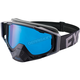 Black Ops Core XPE Goggle w/Smoke Lens w/Platinum Silver Finish - 183102-1010-00