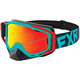 Mint/Red Core XPE Goggle w/Smoke Lens w/Solar Finish - 183102-5220-00