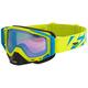 Hi-Vis/Blue Core XPE Goggle w/Blue Lens with Saphire Finish - 183102-6540-00