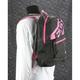 Charcoal/Fuchsia Holeshot Bag - 183201-0890-00