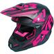 Black/Fuchsia/Charcoal Torque Core Helmet