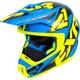 Blue/Hi-Vis/Black Torque Core Helmet