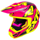 Electric Pink/Hi-Vis/Black Torque Core Helmet