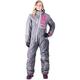 Women's Charcoal/Gray/Fuchsia Squadron Monosuit