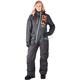 Women's Black/Electric Tangerine/Aqua Squadron Monosuit - 182905-1035-10