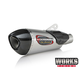 Stainless/Carbon Fiber Street Series Alpha T Slip-On Muffler - 19675BP520