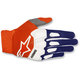 Dark Blue/Fluo. Orange/White Racefend Gloves