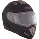 Black Tranz-E Modular Snow Helmet