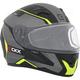 Matte Black/Gray/Yellow RR610 Insert Snow Helmet