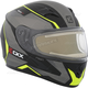 Matte Black/Gray/Yellow RR610 Insert Snow Helmet w/Electric Shield