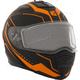 Matte Black/Orange Tranz 1.5 RSV Vision Modular Snow Helmet