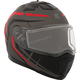 Matte Black/Gray/Red Tranz 1.5 RSV Scorpion Modular Snow Helmet