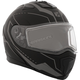 Matte Black/Gray Tranz 1.5 RSV Vision Modular Snow Helmet w/Electric Shield