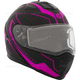 Matte Black/Pink Tranz 1.5 RSV Vision Modular Snow Helmet w/Electric Shield
