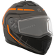 Matte Black/Gray/Orange Tranz 1.5 RSV Scorpion Modular Snow Helmet w/Electric Shield