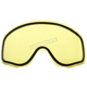 Yellow Dual Pane/Vented Lend for Falcon Goggles - YH18/LENS-YE-DL
