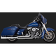 Chrome Pro-Pipe 2-Into-1 Exhaust System - 17583