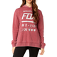 Women's Dark Red Drafter Pullover Hoody
