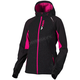Women's Black/Fuchsia Pulse Softshell Jacket