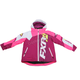Youth Wineberry/White Weave/Electric Pink Revo X Jacket