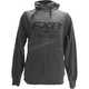 Charcoal Heather/Black Speed & Glory Pullover Hoody