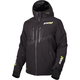 Black Vertical Pro Insulated Softshell Jacket