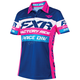 Women's Navy/Fuchsia Race Division Polo Shirt