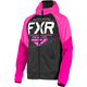 Youth Black/Fuchsia Ride Tech Hoody