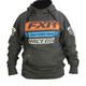 Charcoal Heather/Orange Race Division Pullover Hoody