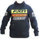 Navy/Orange Race Division Pullover Hoody