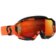 Black/Orange Hustle MX Goggles w/Orange Chrome Lens - 262592-1009280