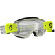 Gray/Yellow Hustle WFS Goggles w/Clear Lens - 262593-1120113