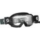 Black/White Hustle WFS Goggles w/Clear Lens - 262593-1007113