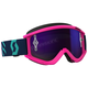 Pink/Teal Recoil XI Goggles w/Purple Chrome Lens - 262596-5722281