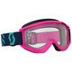 Pink/Teal Recoil XI Goggles w/Clear Lens - 262596-5722113