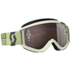 Beige/Brown Recoil XI Goggles w/Silver Chrome Lens - 262596-1074269