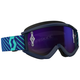 Blue Recoil XI Goggles w/Purple Chrome Lens - 262596-5572281