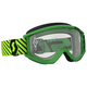 Green/Yellow Recoil XI Goggles w/Clear Lens - 262596-1412113