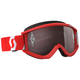 Red Recoil XI Goggles w/Silver Chrome Lens - 262596-1005269