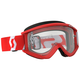 Red Recoil XI Goggles w/Clear Lens - 262596-1005113