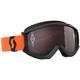 Black/Orange Recoil XI Goggles w/Silver Chrome Lens - 262596-1009269