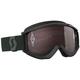 Black/White Recoil XI Goggles w/Silver Chrome Lens - 262596-1007269