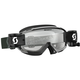 Black/White Split OTG WFS Goggles w/Clear Lens - 262600-1007113