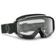 Black/White Split OTG Sand Dust Goggles w/Gray Lens - 262612-1007116