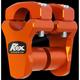 KTM Orange 1 3/4 in. Pivoting handlebar Risers for 1 1/8 in. Handlebars - 3R-P2PPLO